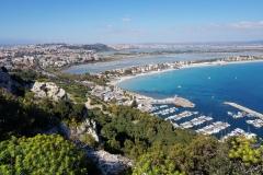 Cagliari dalla Sella del Diavolo