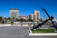 Cagliari Via Roma lato Porto