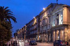 Via Roma notturna